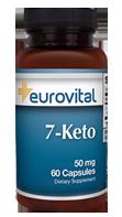 7-Keto DHEA 50 mg 60 cápsulas (EV)